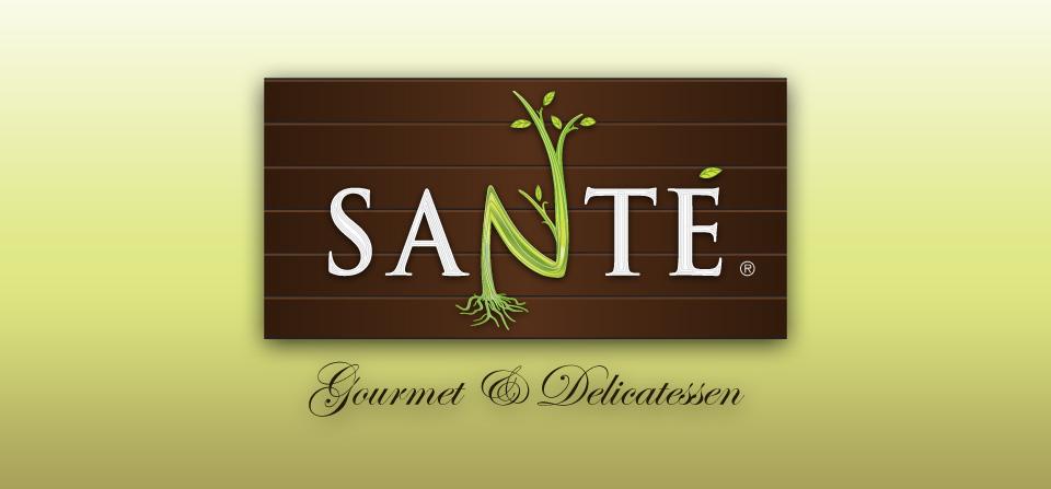 Santé Gourmet & Delicatessen Logo