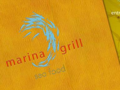 Marina Grill Identidad