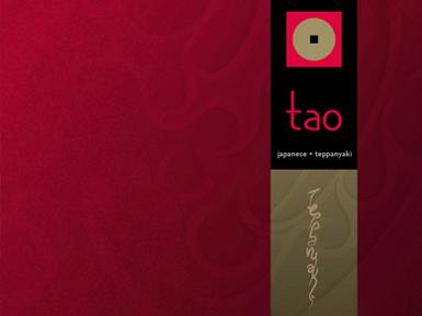 Tao Japanese Teppanyaki / Identidad